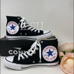 Converse Ctas HI Big Logo Black W AUTHENTIC